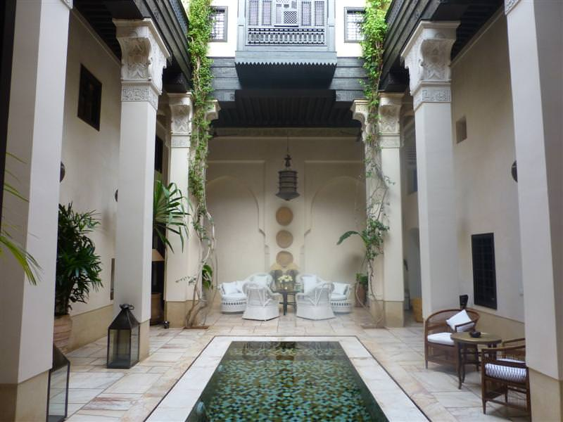 250m2 six bedroom medina design hotel in marrakech by for Hotel design marrakech